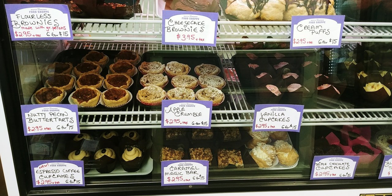 Wide selection of goods baked fresh daily
